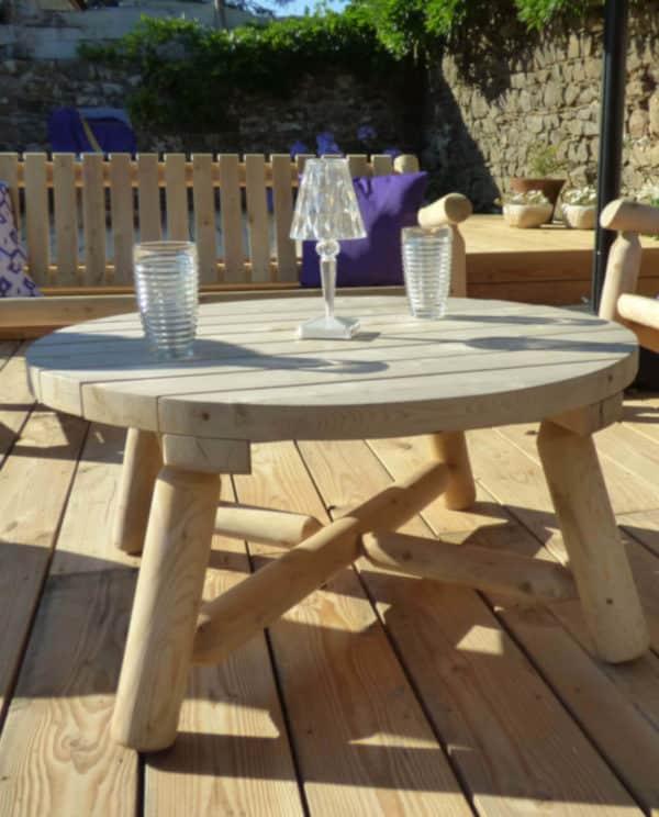table basse de jardin B10