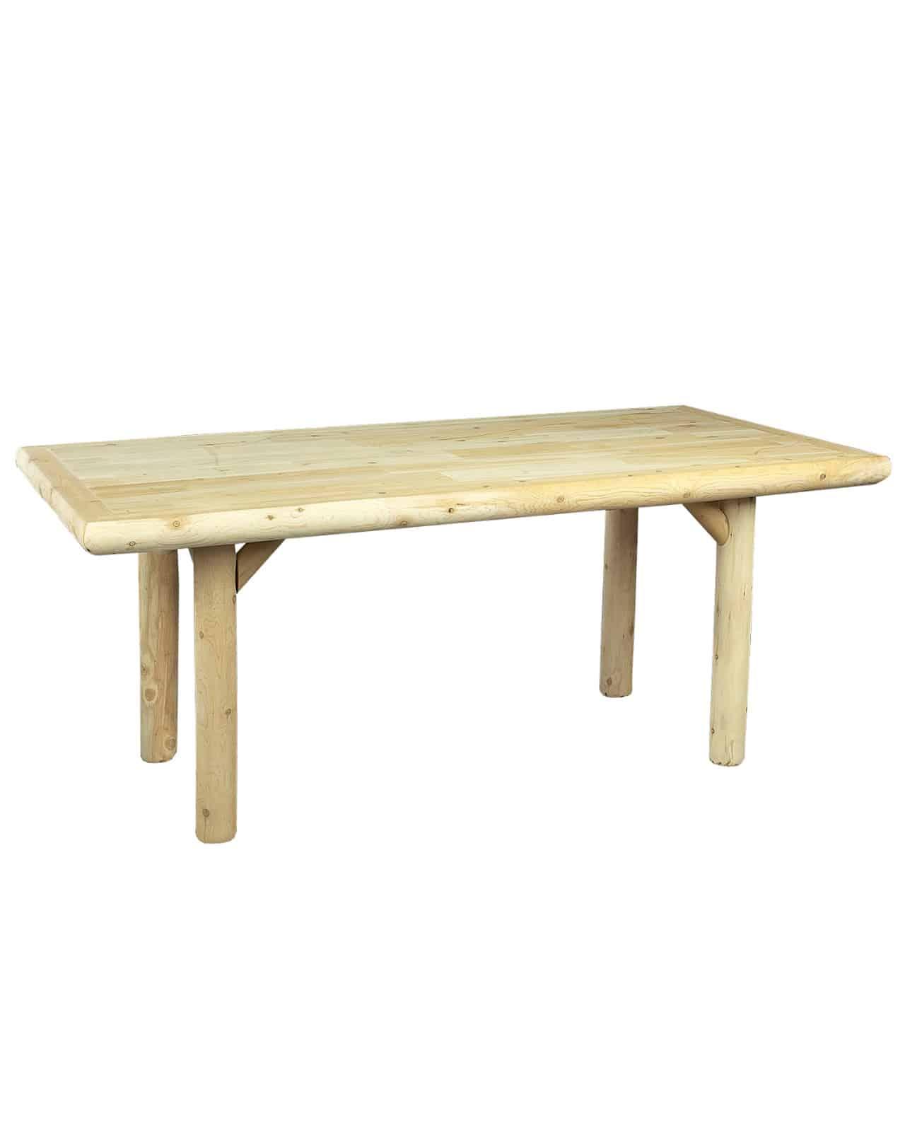 table salle à manger rectangulaire en bois