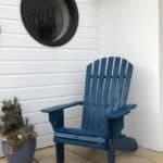adirondack peint bleu B404A