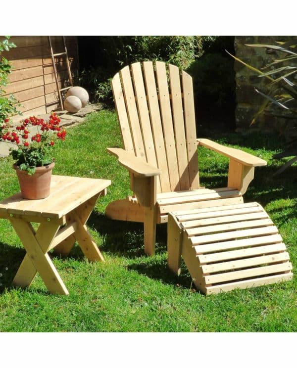 fauteuil adirondack en bois B404A