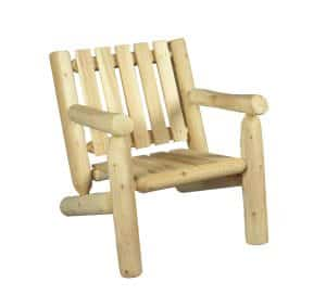 wooden armchair low folder