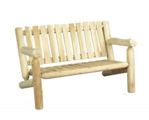 Wooden Bench 2-Seater