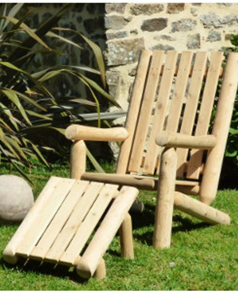 fauteuil-reposepieds-rondins