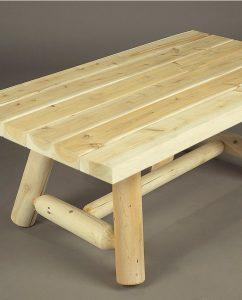 salon de jardin en bois fauteuil et canap n 5 c dre et rondins. Black Bedroom Furniture Sets. Home Design Ideas