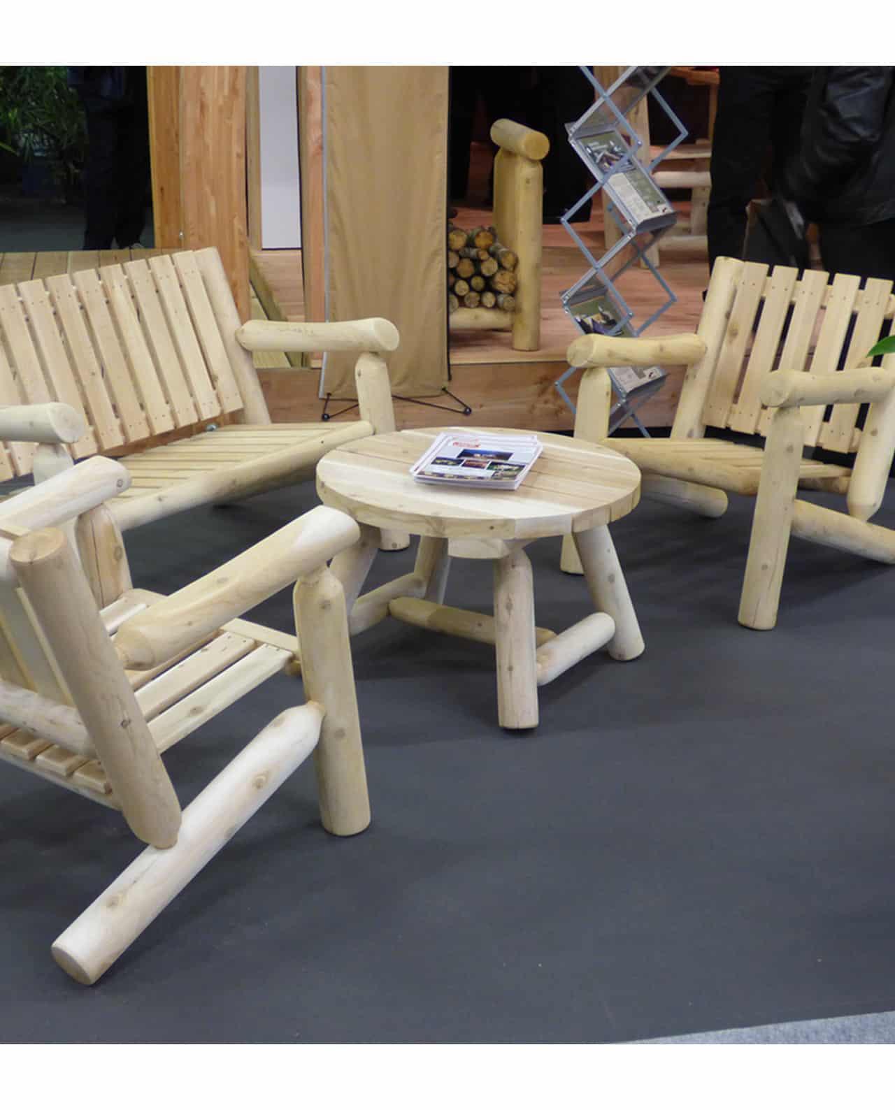 fauteuil et canap meuble de salon n 1 c dre et rondins. Black Bedroom Furniture Sets. Home Design Ideas