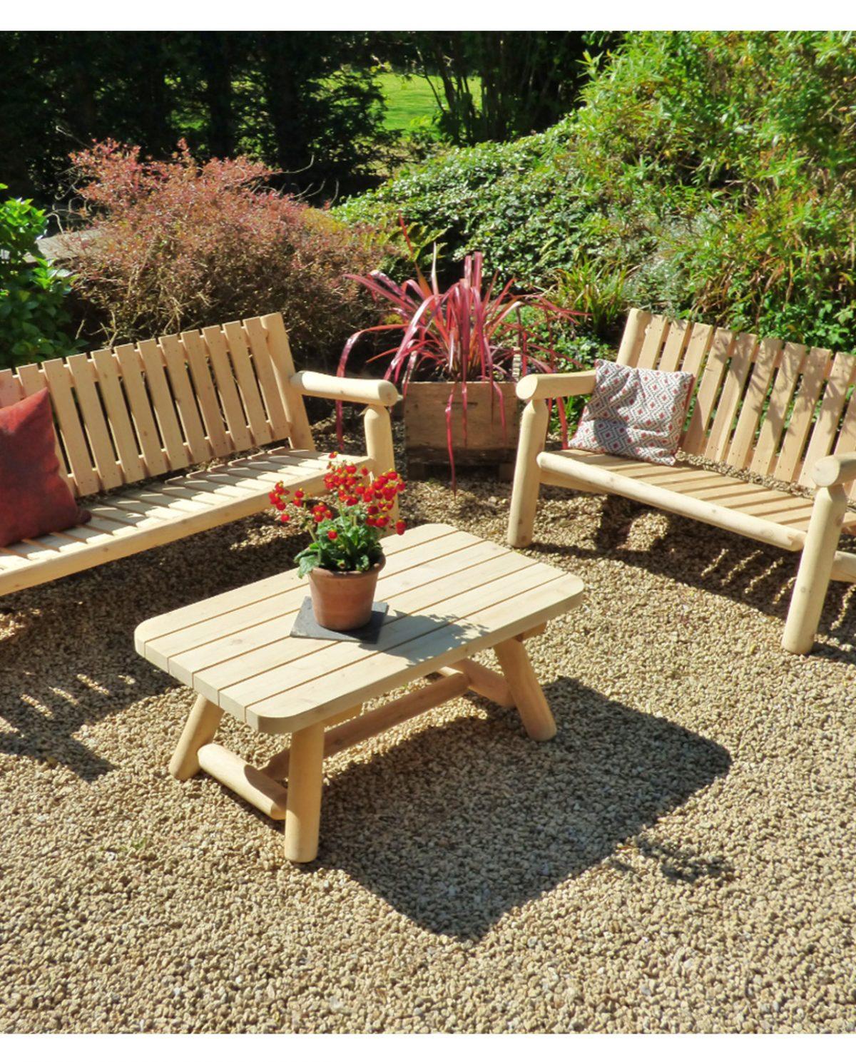 Salons de jardin en bois - Que choisir ? - Cèdre & Rondins