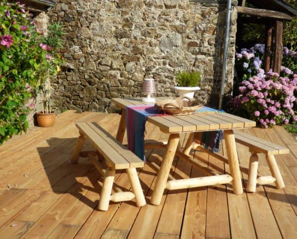 table bois jardin R1S