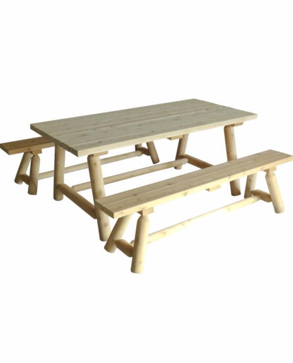 table et banc en bois R1S