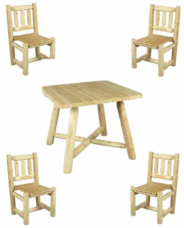 table et chaise en bois - R4S