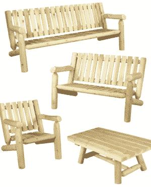 S5 salon de jardin en bois