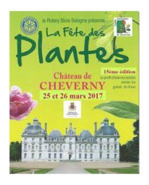 fête des plantes au château de cheverny mars 2017
