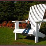 fauteuil chaise adirondack géant
