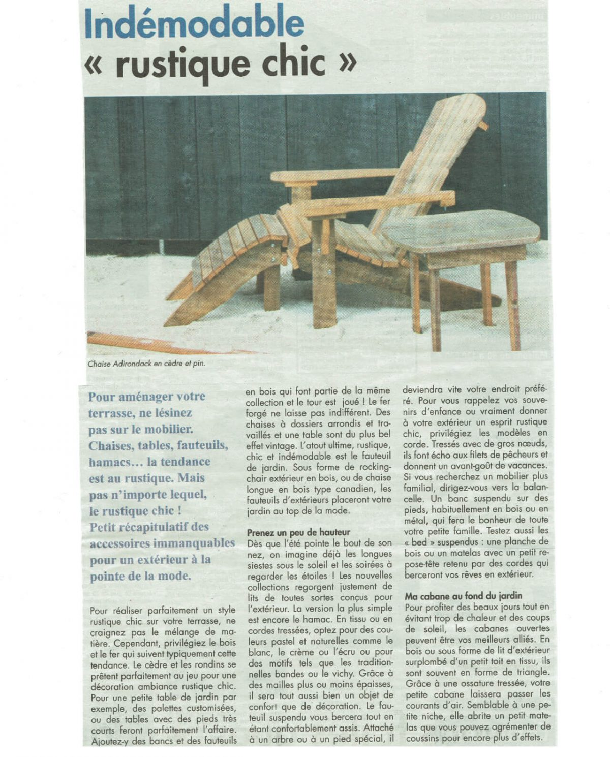 The Télégramme Newspaper of Finistère – June, 2017