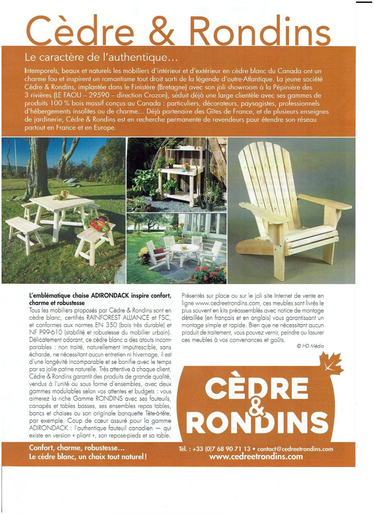 Magazine MAISON & JARDIN ACTUELS – N°40 – 2017
