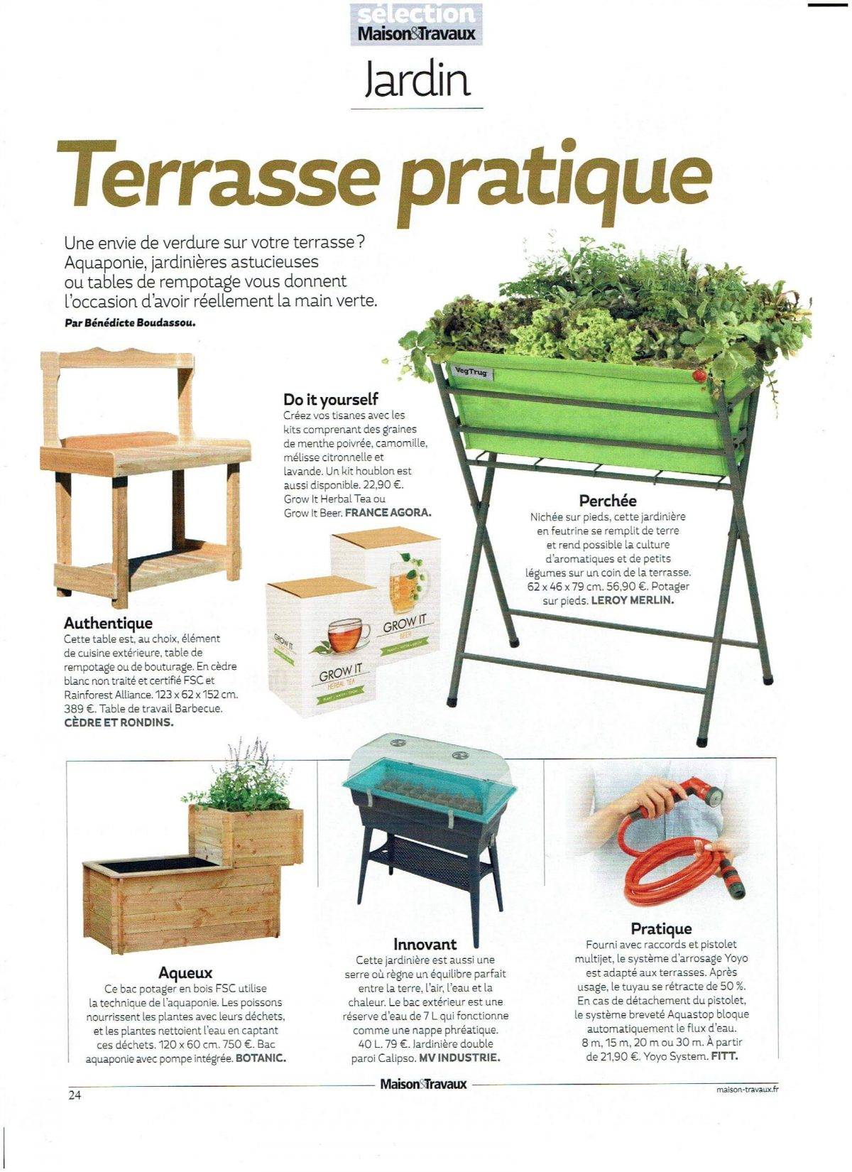 Magazine MAISON and TRAVAUX 2017 – N°280