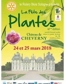 château de cheverny fête des plantes 2018