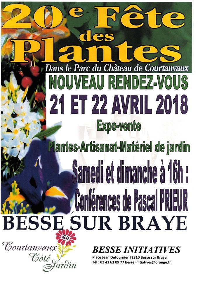 fête des plantes à courtanvaux 2018