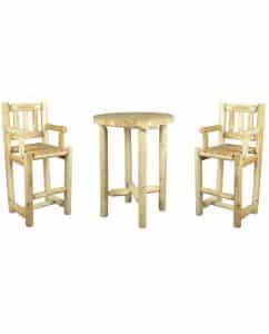 mange-debout en bois decors professionnel