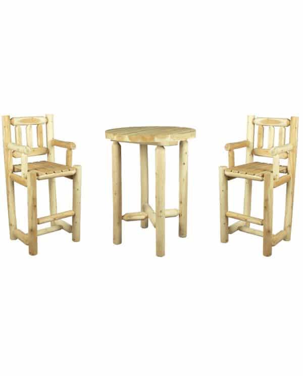 mange-debout en bois ensemble mange debout en bois