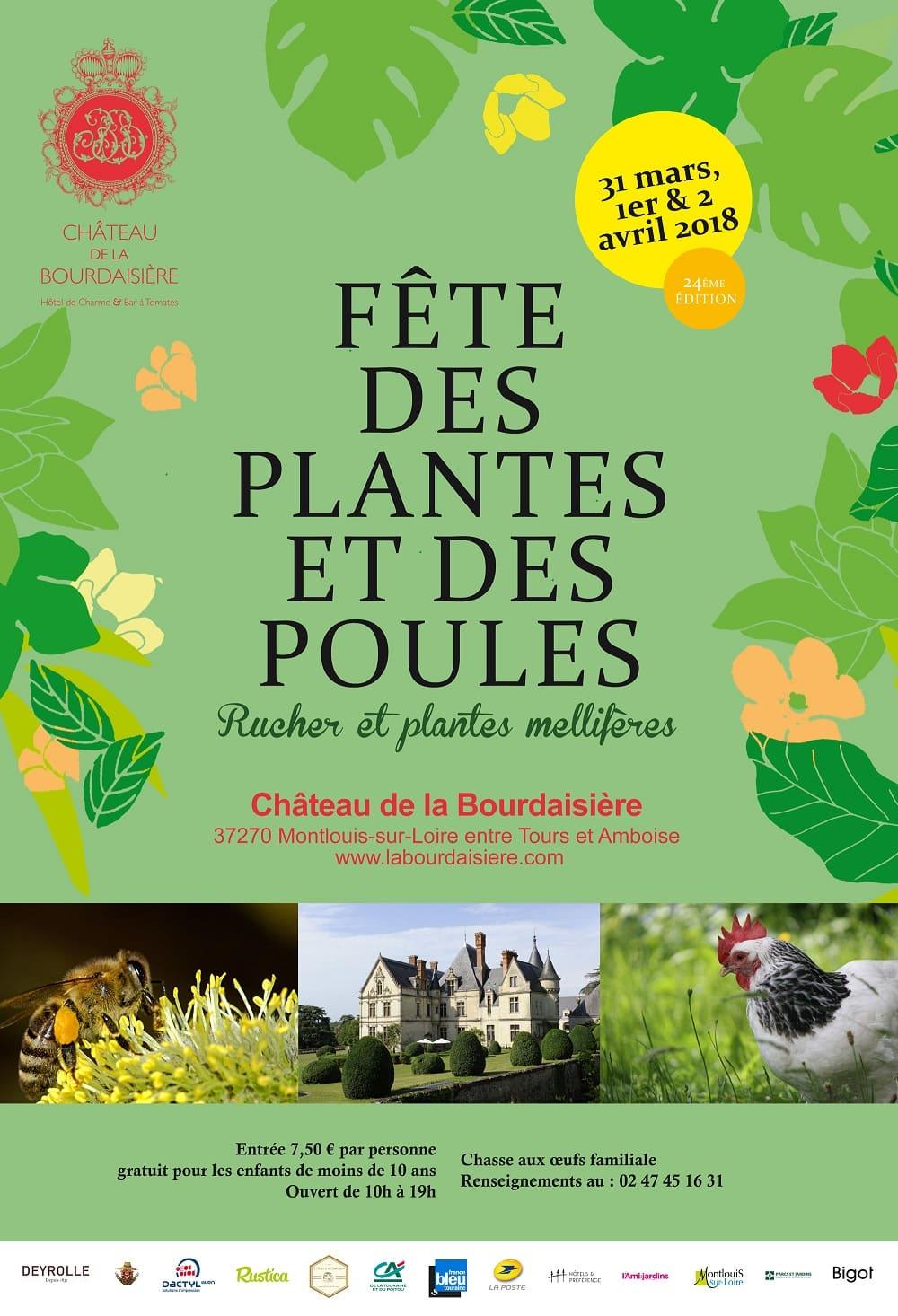 château de la bourdaisière fête des plantes 2018