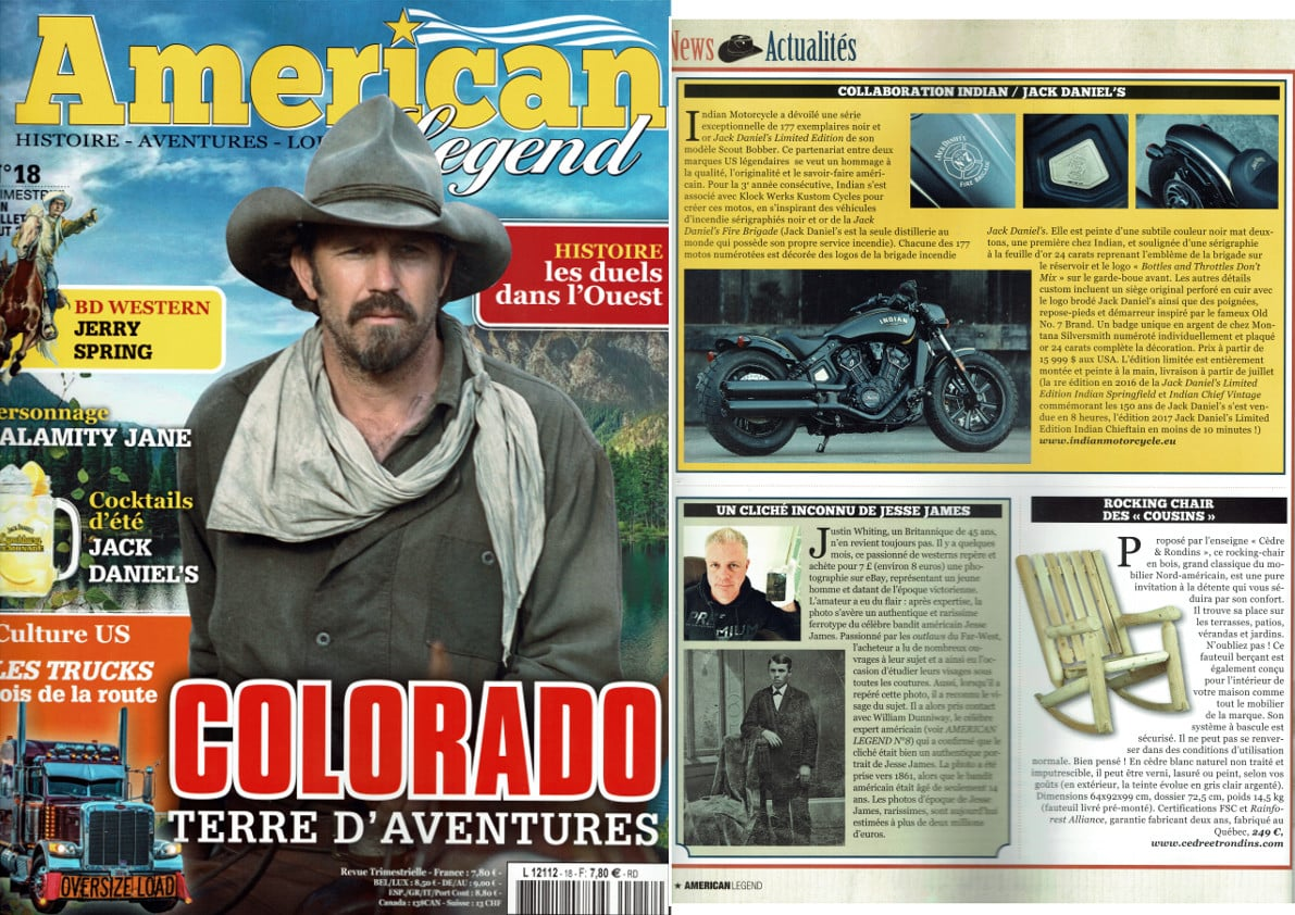 AMERICAN LEGEND MAGAZINE N°18 june 2018