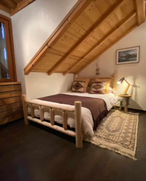 grand lit en bois B138A B138B B138C