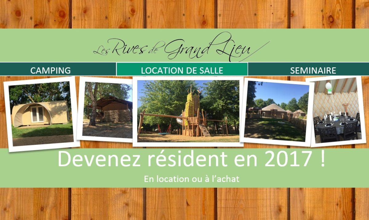 Camping Les Rives de Grand Lieu en Bretagne