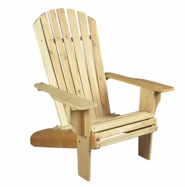fauteuil de jardin en bois c dre rondins. Black Bedroom Furniture Sets. Home Design Ideas