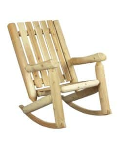 Rocking Chair en bois de cèdre blanc