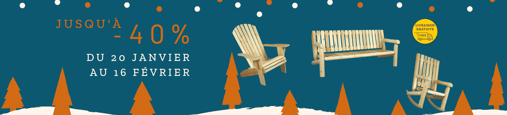 mobilier en bois soldes hiver 2021