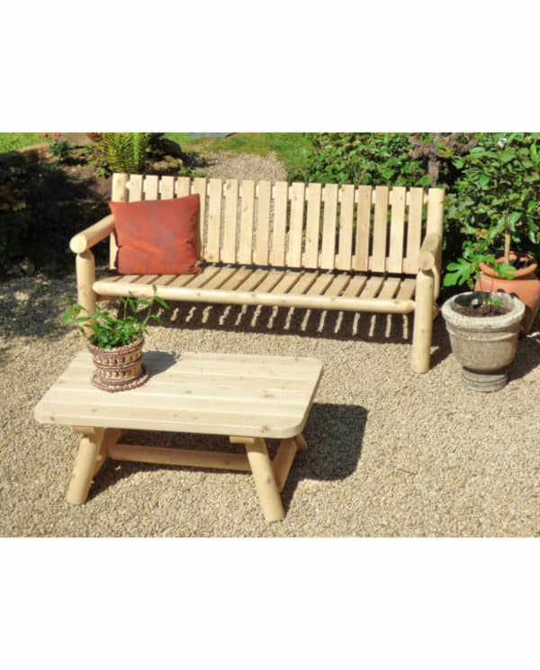 table rectangulaire bois B90A