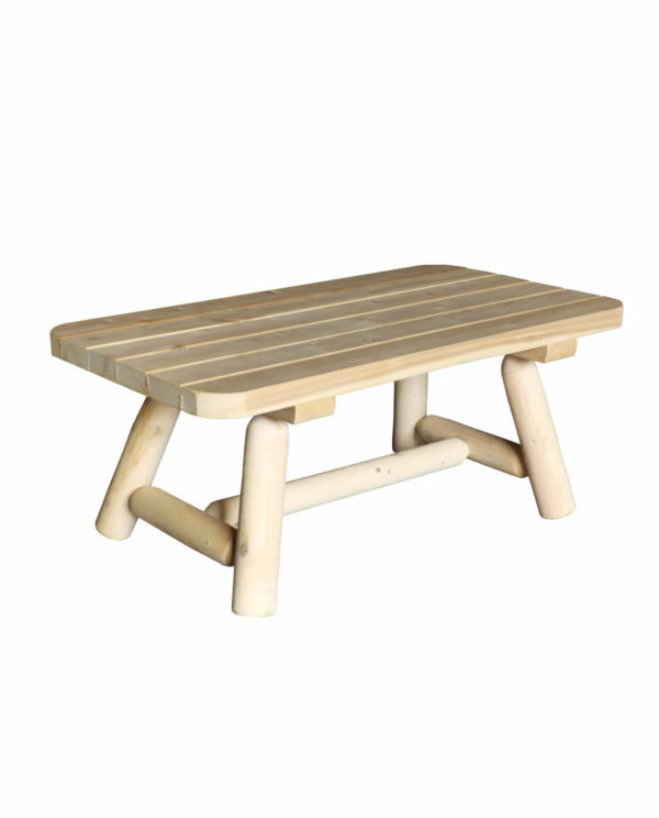 table basse bois rectangulaire B90A