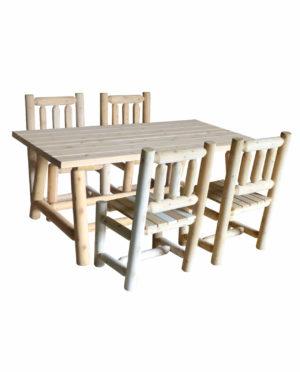 table et chaise salle a manger bois R5S