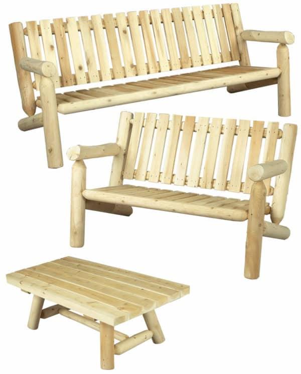 salon en bois indoor outdoor S4
