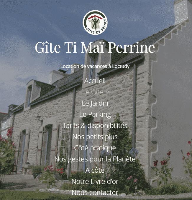 Gite Ti Maï Perrine à Loctudy en Bretagne