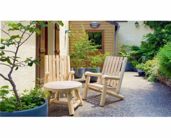 B9 table de salon en bois
