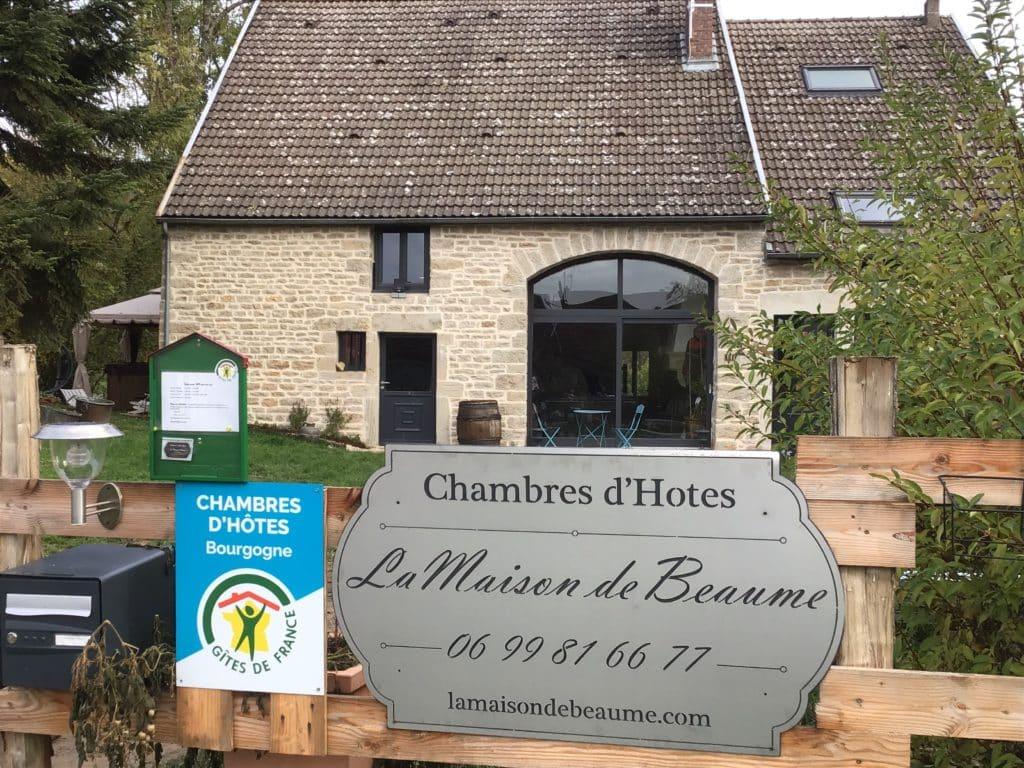 La Maison de Beaume en Bourgogne